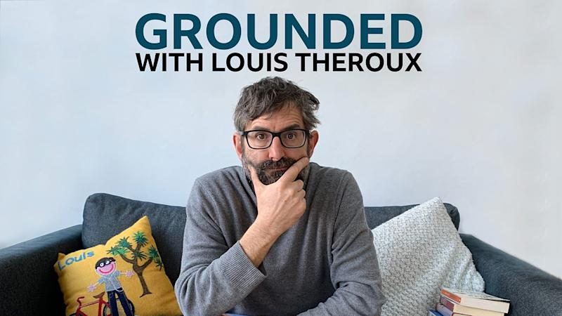 BBC's Grounded with Louis Theroux coronavirus lockdown podcast