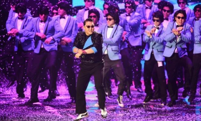 Just because you've had enough of Psy's crazy horse dance, doesn't mean everyone else has.