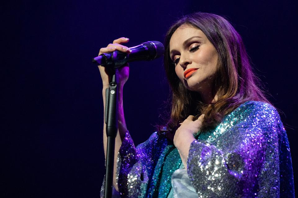 Sophie Ellis-Bextor performs at The Palladium on November 20, 2019 in London, England. (Photo by Lorne Thomson/Redferns)