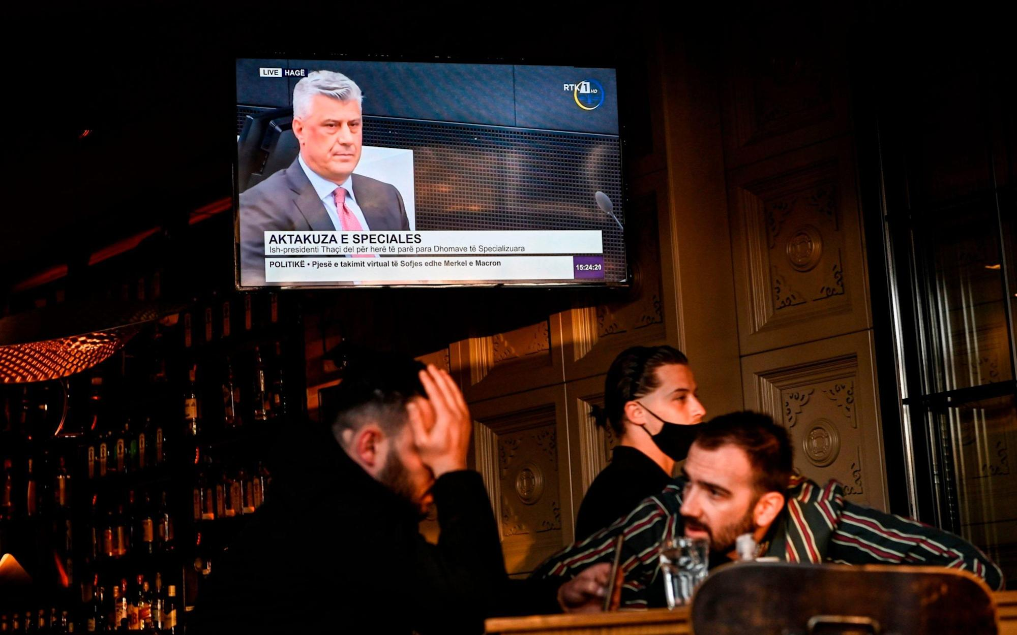 Kosovo's former president Hashim Thaci pleads not guilty at Hague war crimes trial