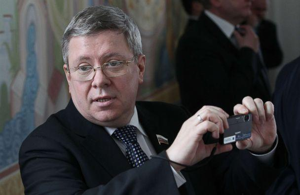 PHOTO: Russian Council of the Federation Deputy Chief Alexander Torshin is seen during a meeting, April, 3, 2012 in Maloyaroslavets, Kaluga region, Russia. (Sasha Mordovets/Getty Images)