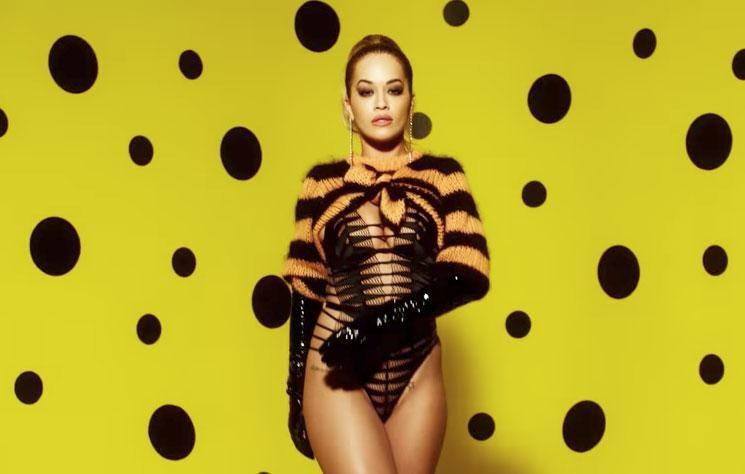 Rita Ora leaves very little to the imagination in her latest shoot with LOVE magazine. Source: Rankin/LOVE magazine
