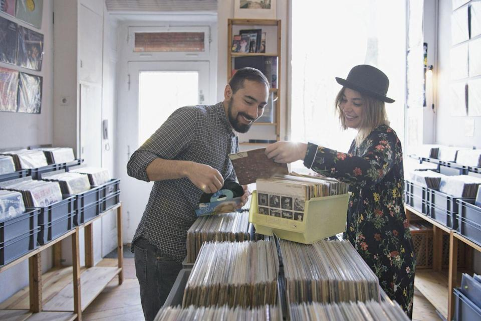 <p>The best part about going record shopping together—besides finding some new vinyls to add to your collection—is sharing your favorite artists with each other.</p>