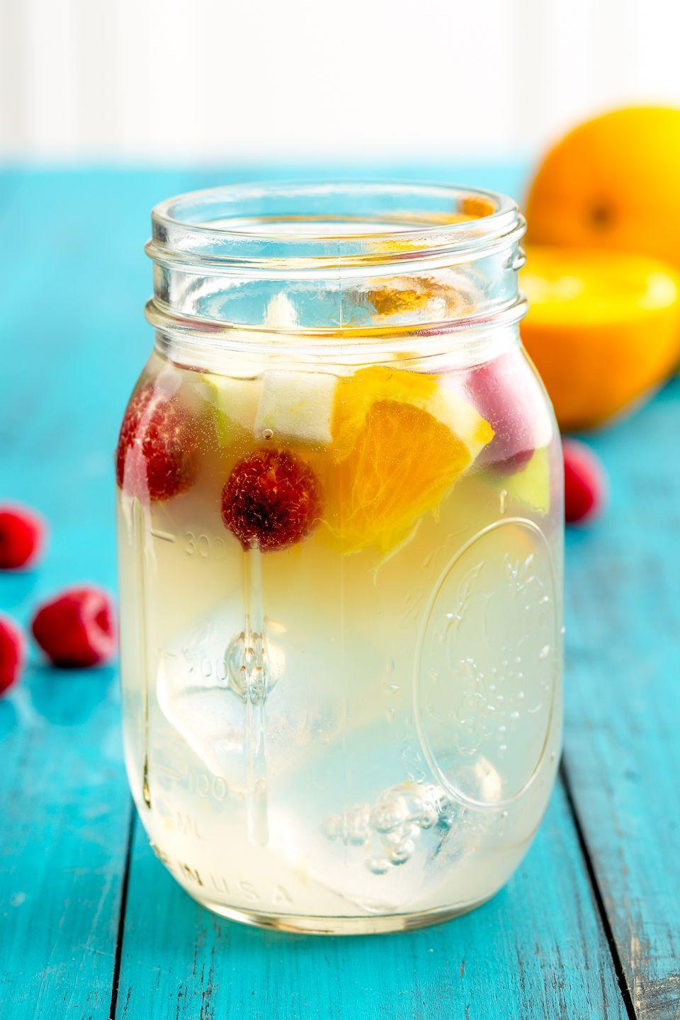 """<p>It's your two favorite summertime drinks in one glass.</p><p>Get the recipe from <a href=""""https://www.delish.com/cooking/recipes/a47848/sangria-lemonade-recipe/"""" rel=""""nofollow noopener"""" target=""""_blank"""" data-ylk=""""slk:Delish"""" class=""""link rapid-noclick-resp"""">Delish</a>.</p>"""