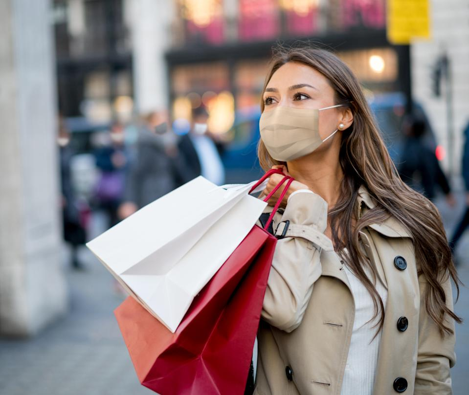 Clothing spend saw a 4.2% rise in September. Credit: Getty.