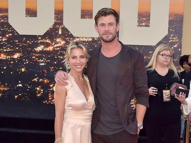 Chris Hemsworth rejects report accusing him of trucking in water for garden
