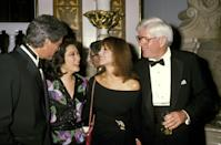 <p>The talk-show elite dressed to the nines and posed together at the awards.</p>