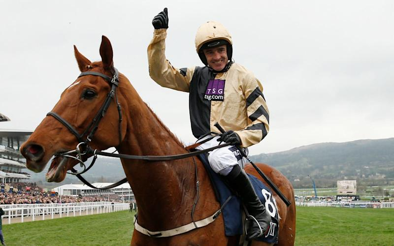 Yorkhill registered Willie Mullins first win of the 2017 Cheltenham Festival in the JLT - Credit: Reuters