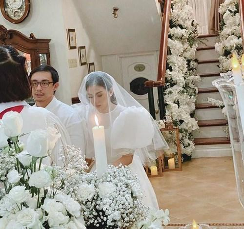 Alex and Mikee were married last November