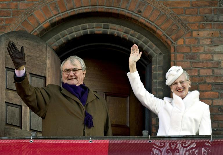 Queen Margrethe II, whom Henrik married in 1967, celebrated 40 years on the throne in 2012