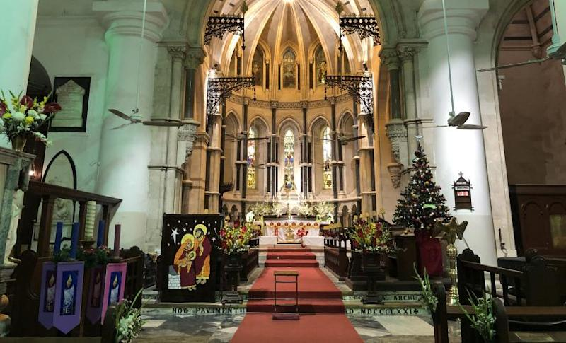 St Thomas Cathedral today. Image courtesy of the author