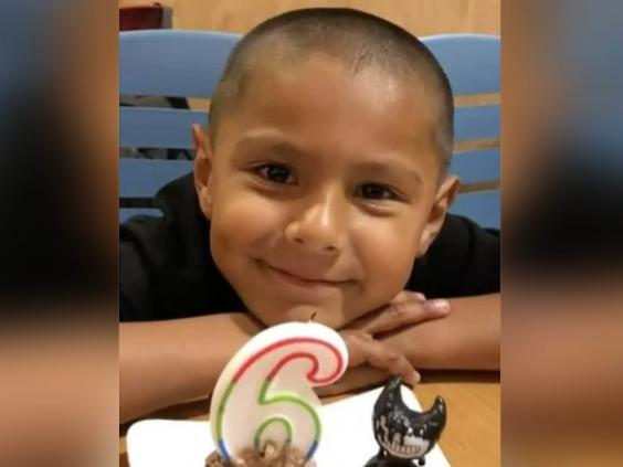 Stephen Romero, aged 6, was killed in the Gilroy mass shooting (Kerry Romero / Universal News and Sport)