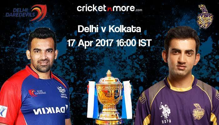 IPL 10: Confident Delhi Daredevils face stern test vs Kolkata Knight Riders