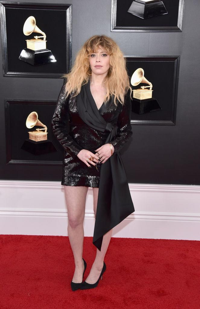 <p>Natasha Lyonne attends the 61st annual Grammy Awards at Staples Center on Feb. 10, 2019, in Los Angeles. </p>