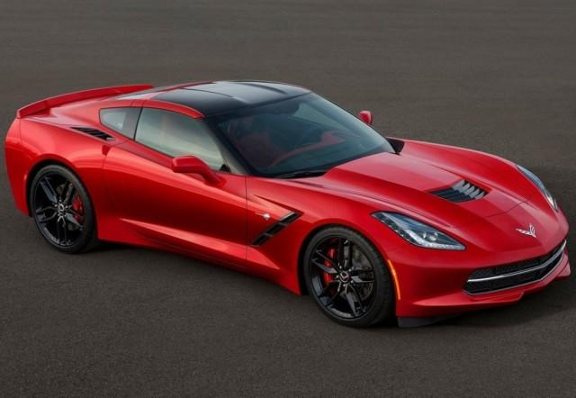 Red Chevrolet Corvette (2017)
