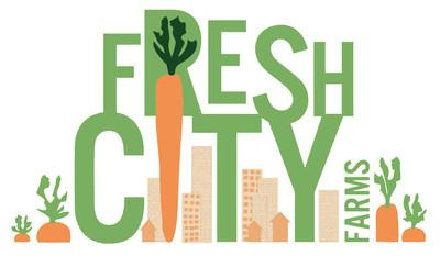 Fresh City, a Toronto farm and online and bricks and mortar grocer, announced today that it has partnered with FoodShare Toronto to assist in getting food to those in need at this critical time. (CNW Group/Fresh City Farms Inc.)