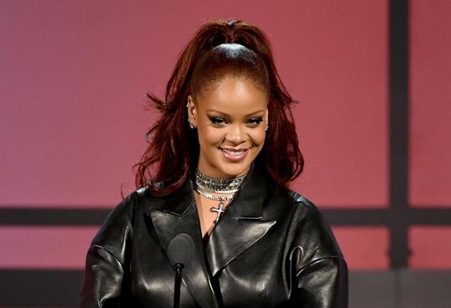 Rihanna ai BET Awards lo scorso giugno. (Photo by Kevin Winter/Getty Images)