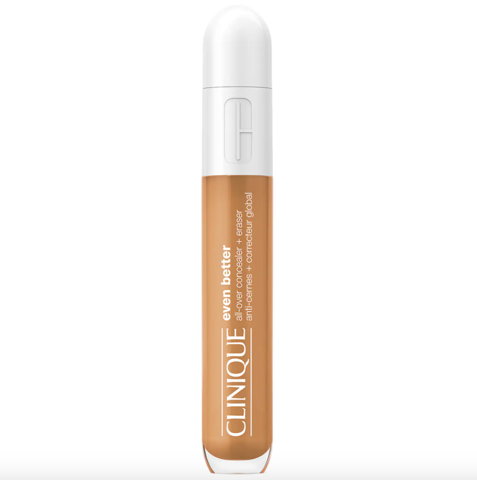 """<p><strong>CLINIQUE</strong></p><p>sephora.com</p><p><strong>$26.00</strong></p><p><a href=""""https://go.redirectingat.com?id=74968X1596630&url=https%3A%2F%2Fwww.sephora.com%2Fproduct%2Fclinique-even-better-all-over-concealer-eraser-P461436&sref=https%3A%2F%2Fwww.thepioneerwoman.com%2Fbeauty%2Fskin-makeup-nails%2Fg36563969%2Fbest-concealers-for-mature-skin%2F"""" rel=""""nofollow noopener"""" target=""""_blank"""" data-ylk=""""slk:Shop Now"""" class=""""link rapid-noclick-resp"""">Shop Now</a></p><p>This creamy concealer, which is sold in 42 shades, is designed to look like your skin—but better. It's formulated with plumping hyaluronic acid, energizing caffeine, and brightening vitamin C, which work together to revitalize the look of your complexion. </p>"""