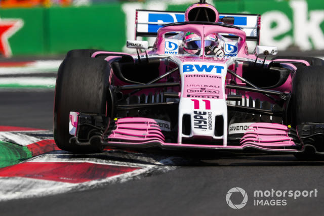 """2018-Racing Point Force India-VJM11 <span class=""""copyright"""">Steven Tee / Motorsport Images</span>"""