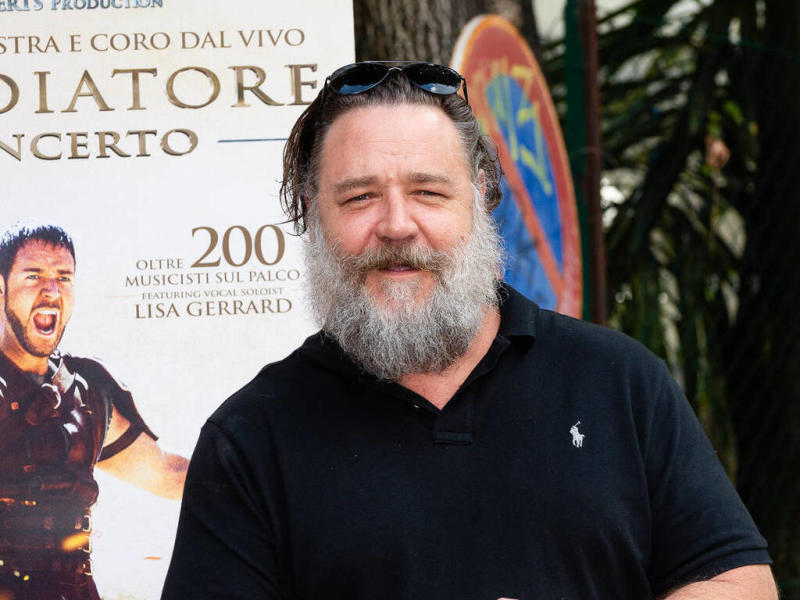 Russell Crowe: 'I owe my Hollywood career to Sharon Stone'