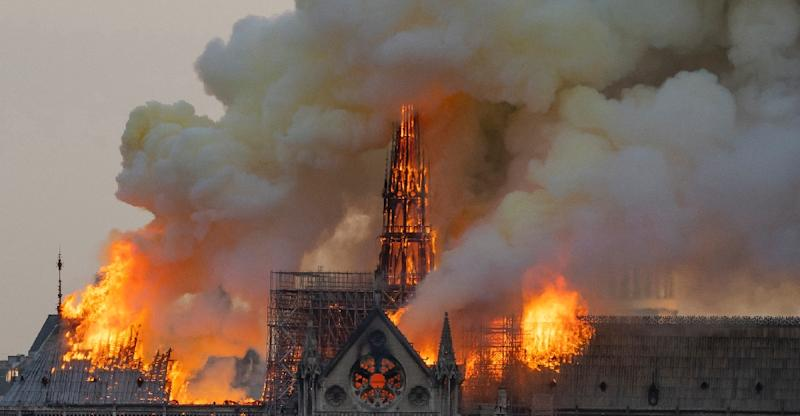 French fire chiefs dismissed Sonald Trump's advise for fighting the Notre Dame fire