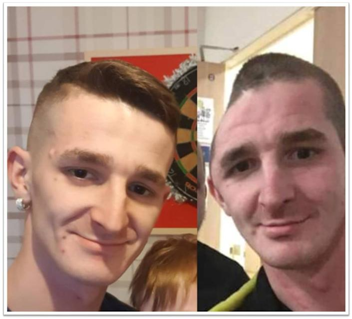 Ran Covell was left with life-changing injuries and had to have part of his skull removed. (Northumbria Police)