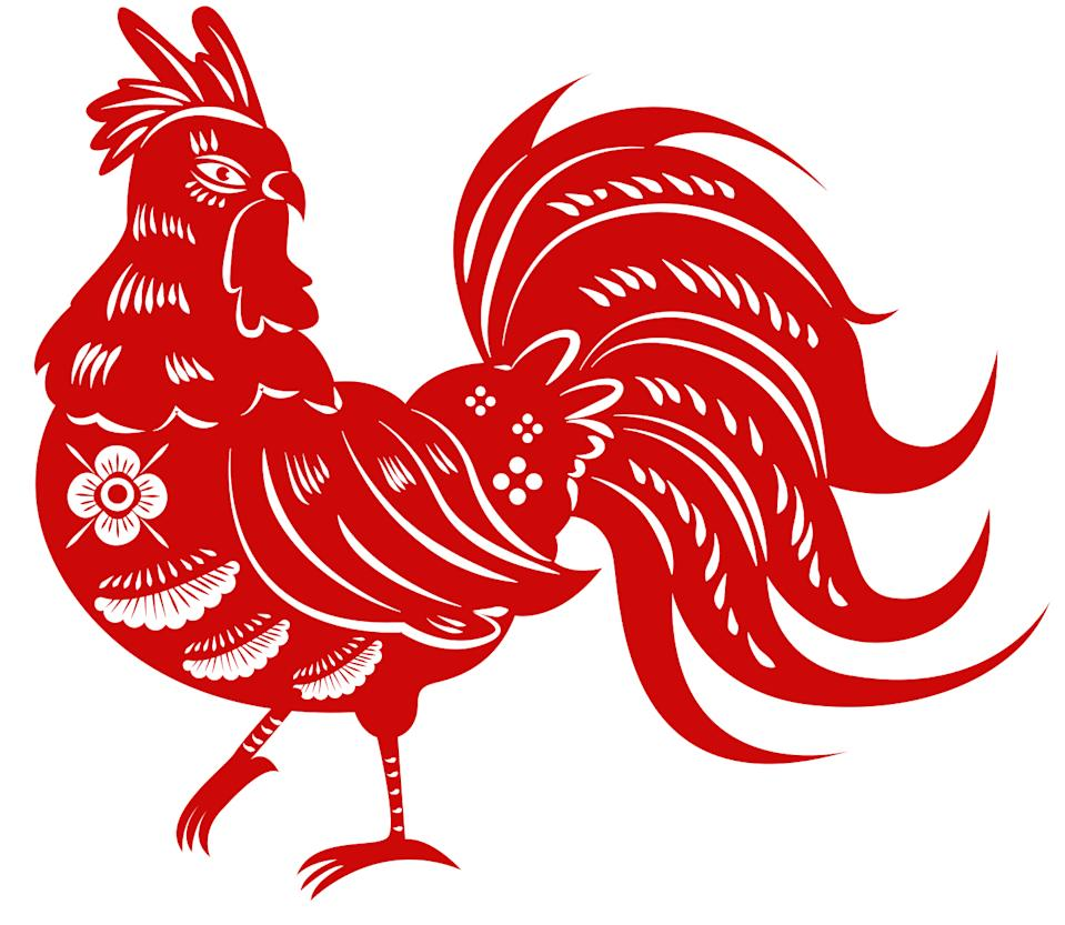 Rooster zodiac. (Photo: iStock/Getty Images)