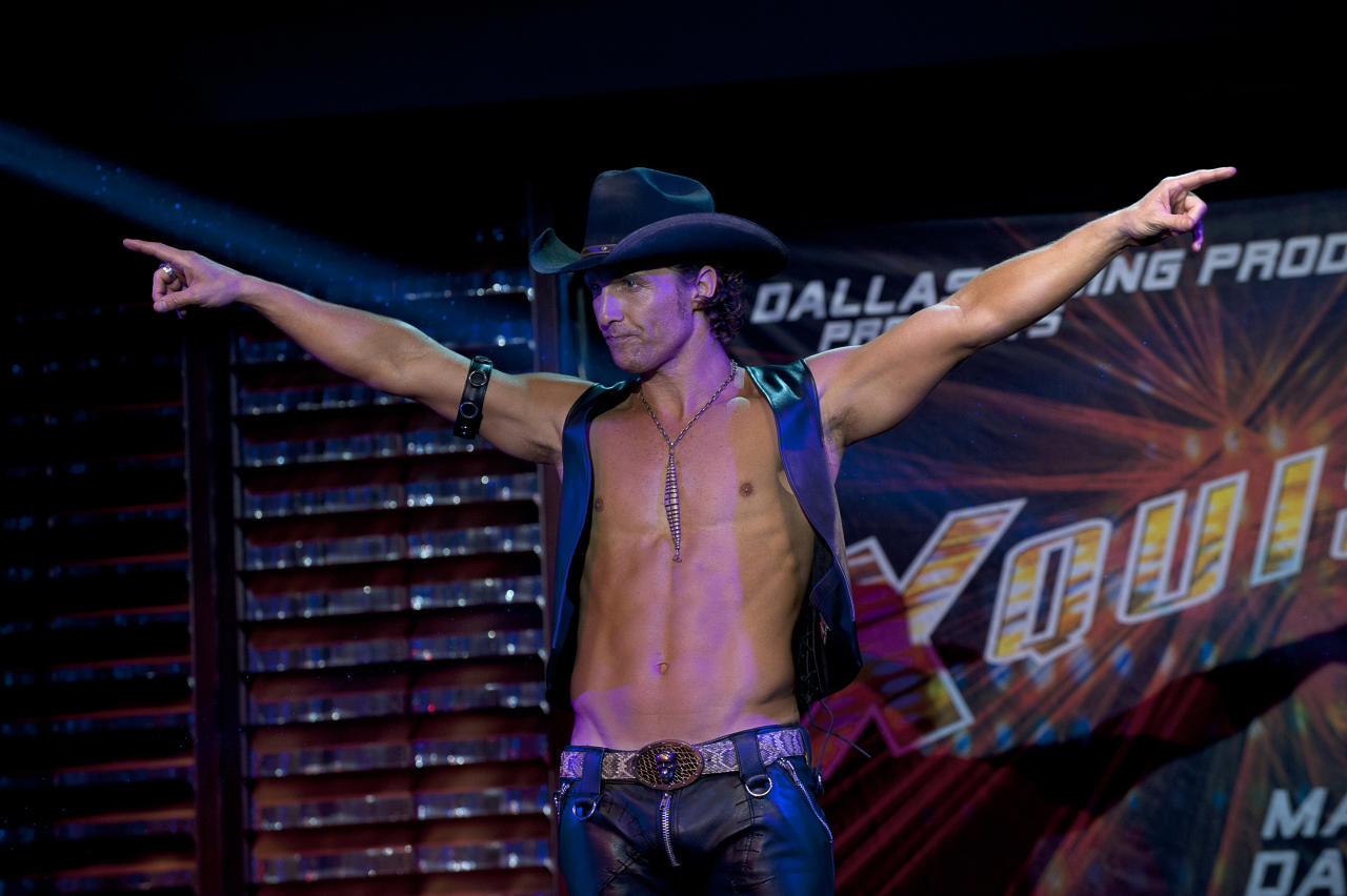"Matthew McConaughey, ""Magic Mike"""