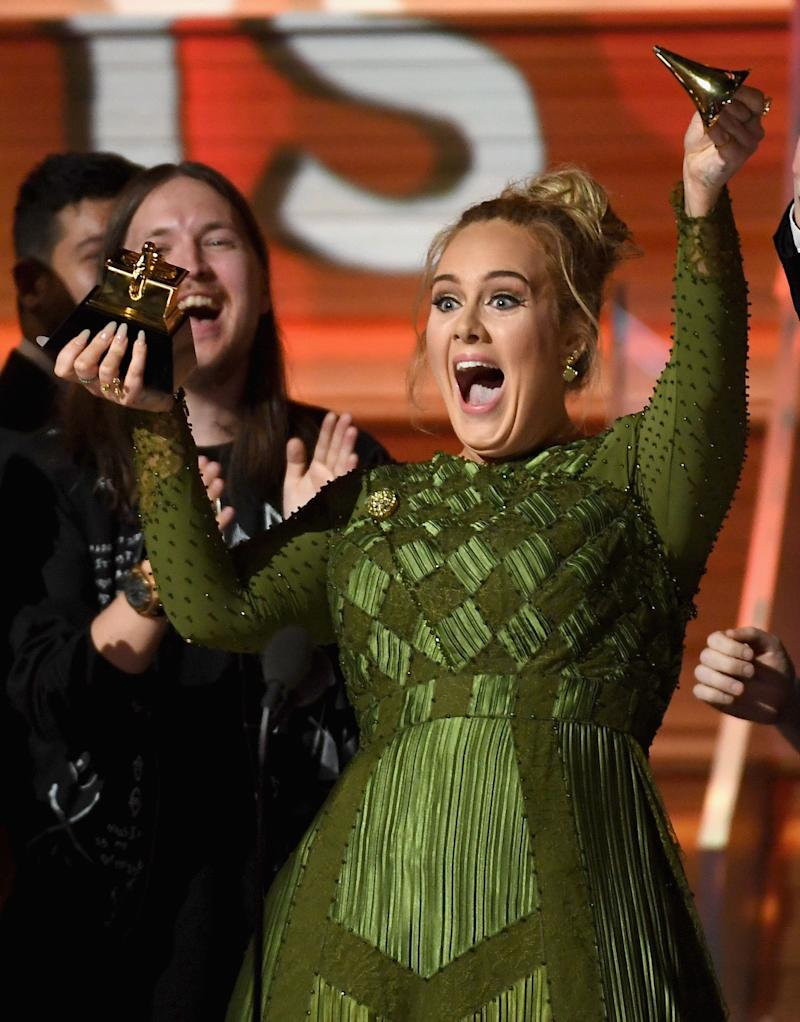 "The Hello singer swept the board following the release of her album, 25, but when she won over Beyonc&eacute;&rsquo;s opus Lemonade, even Adele had to admit something was up.<br /><br />&ldquo;I can&rsquo;t possibly accept this award,&rdquo; she said, &ldquo;The Lemonade album was so monumental... so well thought out and so beautiful and soul-bearing, and we all got to see another side to you that we don&rsquo;t always let us see.""<br /><br />Addressing Beyonc&eacute;, Adele continued: &ldquo;All us artists here, we fucking adore you. You are our light, and the way that you make me and my friends feel, the way you make my black friends feel is empowering, and you make them stand up for themselves. I love you, and I always will.&rdquo;"