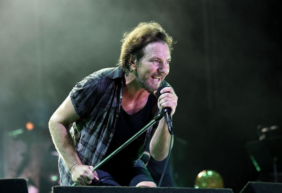 <p>The Pearl Jam frontman won a Golden Globe for Best Original Song for his contribution to 2008's <em>Into the Wild. </em>Even more surprising, Vedder has been nominated thrice.</p>
