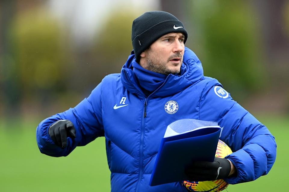<p>Sticking around: Frank Lampard</p> (Chelsea FC via Getty Images)