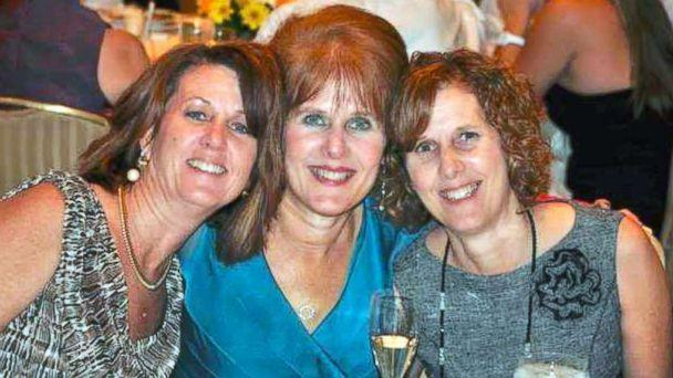 PHOTO: Seen from left, sisters Sue Connors, Mary Sherlach and Jane Dougherty in an undated photo. Sherlach was the school psychologist and an 18-year employee who lost her life at Sandy Hook elementary school in Newtown, Conn. on Dec. 14, 2012. (Jane Dougherty)