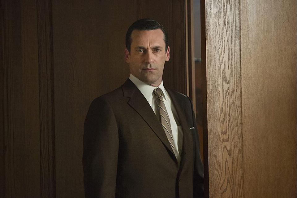 <p>As the show's magnetic lead character, Don Draper, Hamm made a business of selling perfection. And while he and his beautiful wife Betty, and then Megan, all made a handsome picture, his personal life was a bit of a mess, to say the least. His Emmy Award winning turn as the dapper Draper was really Hamm's breakthrough part. </p>