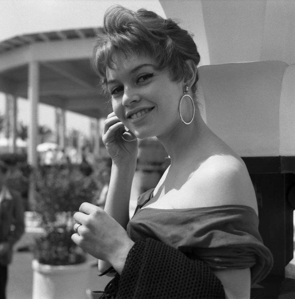 Brigitte Bardot and her shoulders. (Photo: Getty Images)