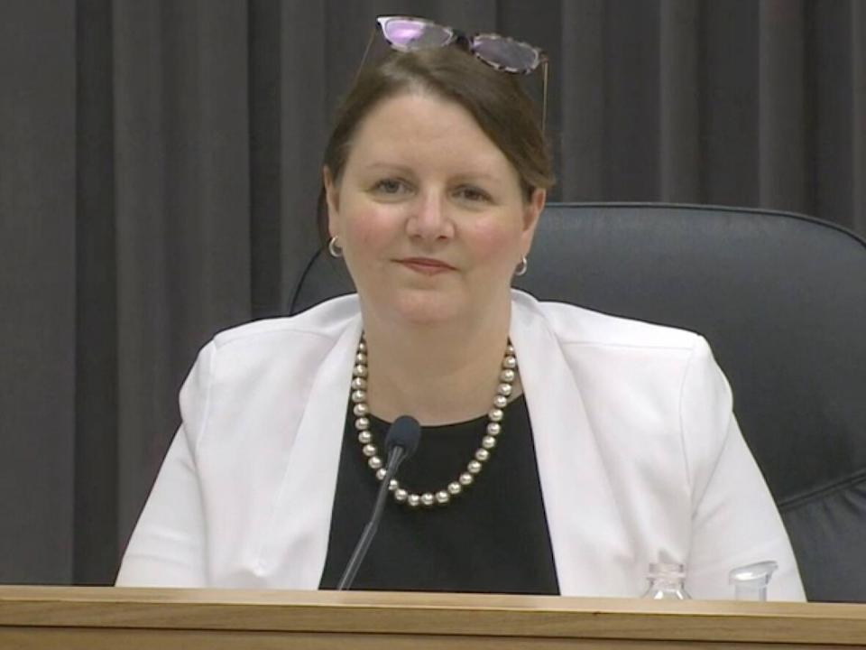 Dr. Jennifer Russell, chief medical officer of health for New Brunswick, said 'time will tell' of the impact the 'circuit-breaker' restrictions have on COVID-19 cases. (CBC - image credit)