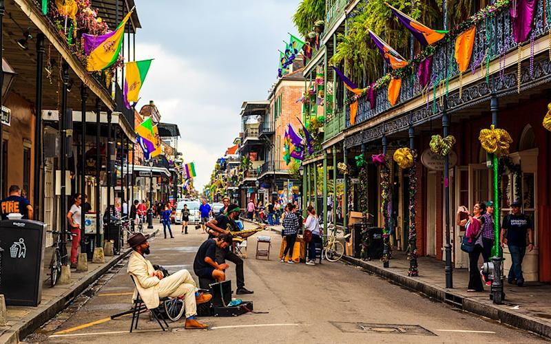 New Orleans is full of colourful diversions, not least the annual Mardi Gras celebrations