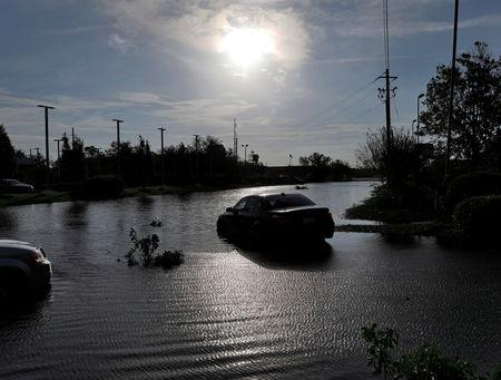 North Carolina devastated as floodwaters rise from deadly storm Florence