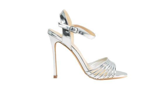 """<p>Metallic Barely There Heel, $41, <a href=""""http://us.asos.com/new-look/new-look-metallic-barely-there-heel/prod/pgeproduct.aspx?iid=7201614&clr=Silver&SearchQuery=&cid=4172&pgesize=36&pge=0&totalstyles=473&gridsize=3&gridrow=6&gridcolumn=1"""" rel=""""nofollow noopener"""" target=""""_blank"""" data-ylk=""""slk:asos.com"""" class=""""link rapid-noclick-resp"""">asos.com</a></p>"""