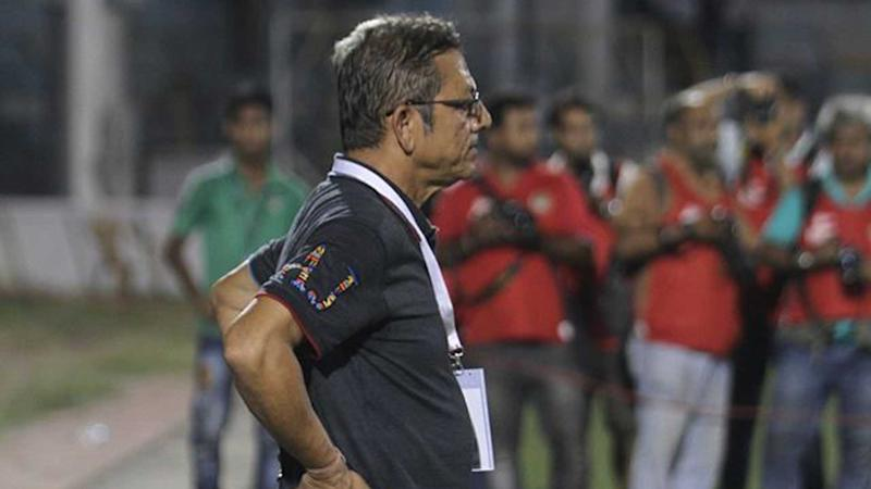"I-League 2017: Sanjoy Sen: ""If that was not a penalty, then there shouldn't be any penalty in football"""