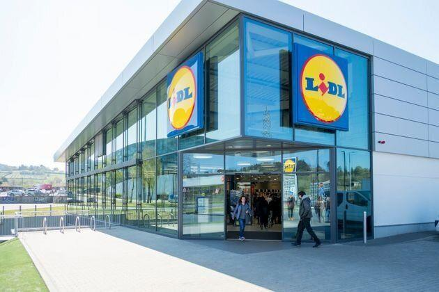 Un supermercado Lidl (Photo: EFE)