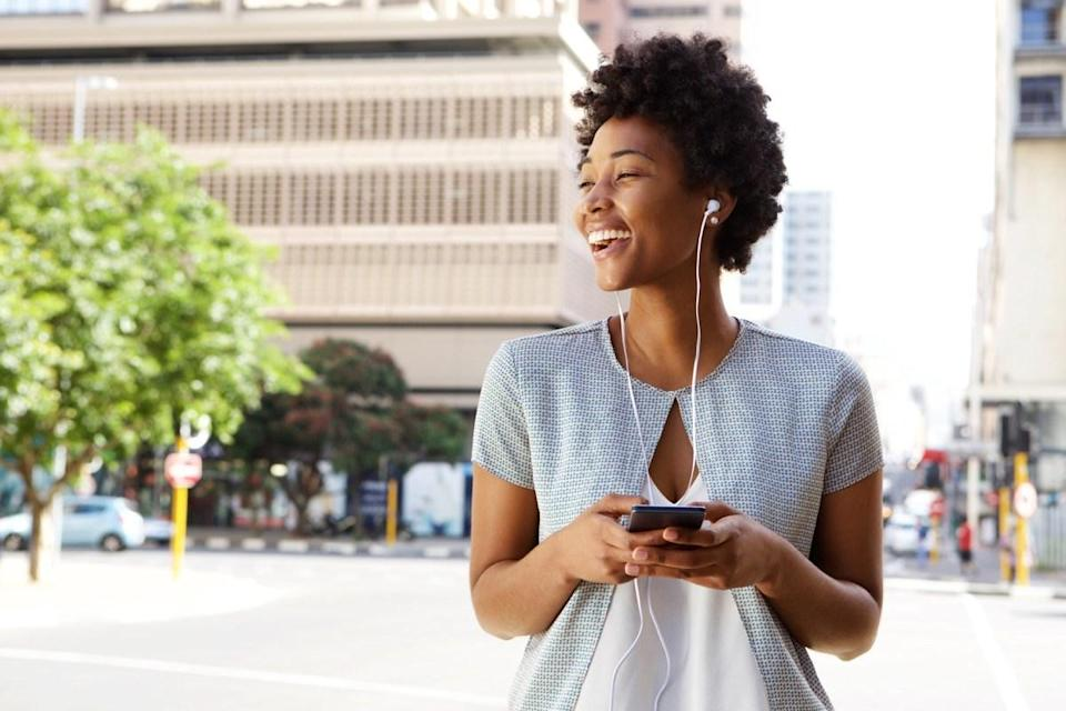 """Paying attention to a podcast host or an audiobook narrator can be a challenge when you're lounging at home, but it's easy enough to stay focused on a walk. Pick an interesting book or podcast, and you could learn something new while stretching your legs. In a 2011 study on college students published in the journal <em>Computers & Education</em>, researchers found that students who <a href=""""https://www.sciencedirect.com/science/article/abs/pii/S0360131511000820"""" rel=""""nofollow noopener"""" target=""""_blank"""" data-ylk=""""slk:got their information from a podcast"""" class=""""link rapid-noclick-resp"""">got their information from a podcast</a> performed just as well as their peers who attended a lecture. Get lost in a good book, and you just might find a """"quick walk around the block"""" turns into a 30-minute workout."""