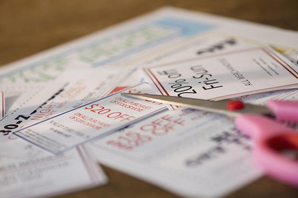 <p>Have you actually used that plastic baggy holding all your coupons lately? Most of them are probably expired, and therefore unusable. Comb through your coupon book, or better yet — just throw it out and start over. </p>