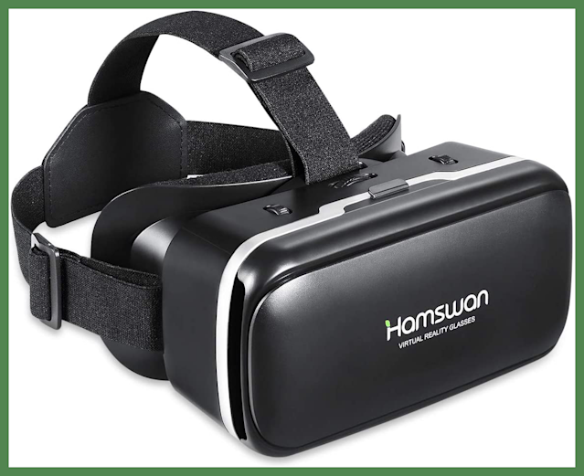 For Prime members only: Save $6 on this HAMSWAN 3D Virtual Reality Headset. (Photo: Amazon)