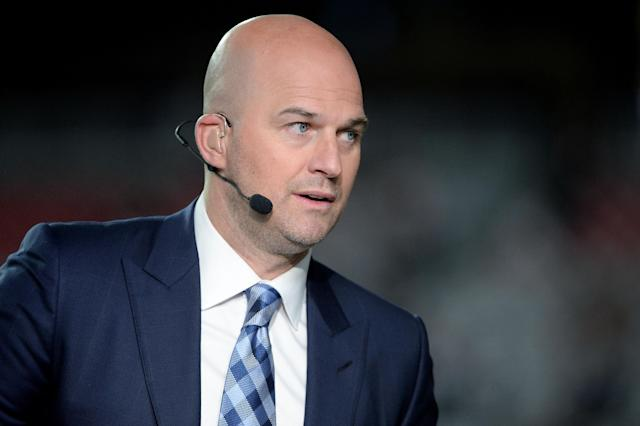 Matt Hasselbeck was a front-runner after Jon Gruden left to coach the Raiders. (Photo by Jennifer Stewart/Getty Images)