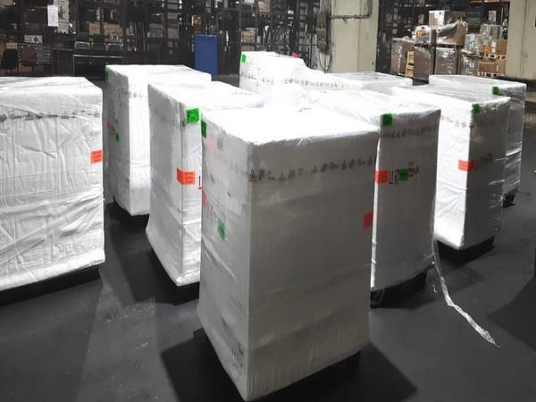 29021 vials of Remdesivir that arrived in Mumbai early this morning.