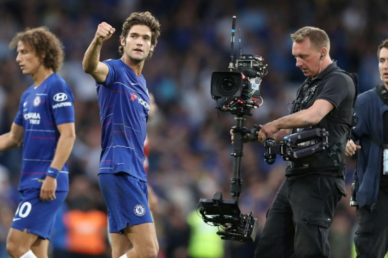 Marcos Alonso has been in outstanding early season form for Chelsea