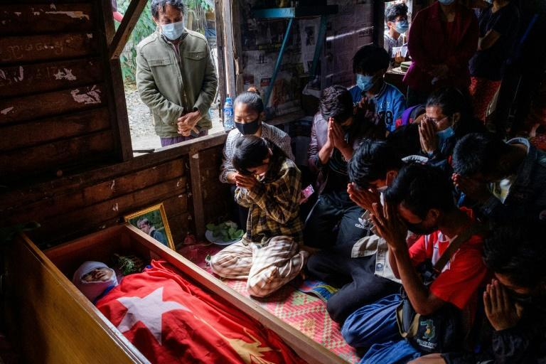 Daily rallies across Myanmar by unarmed protesters have been met with tear gas, rubber bullets and live rounds