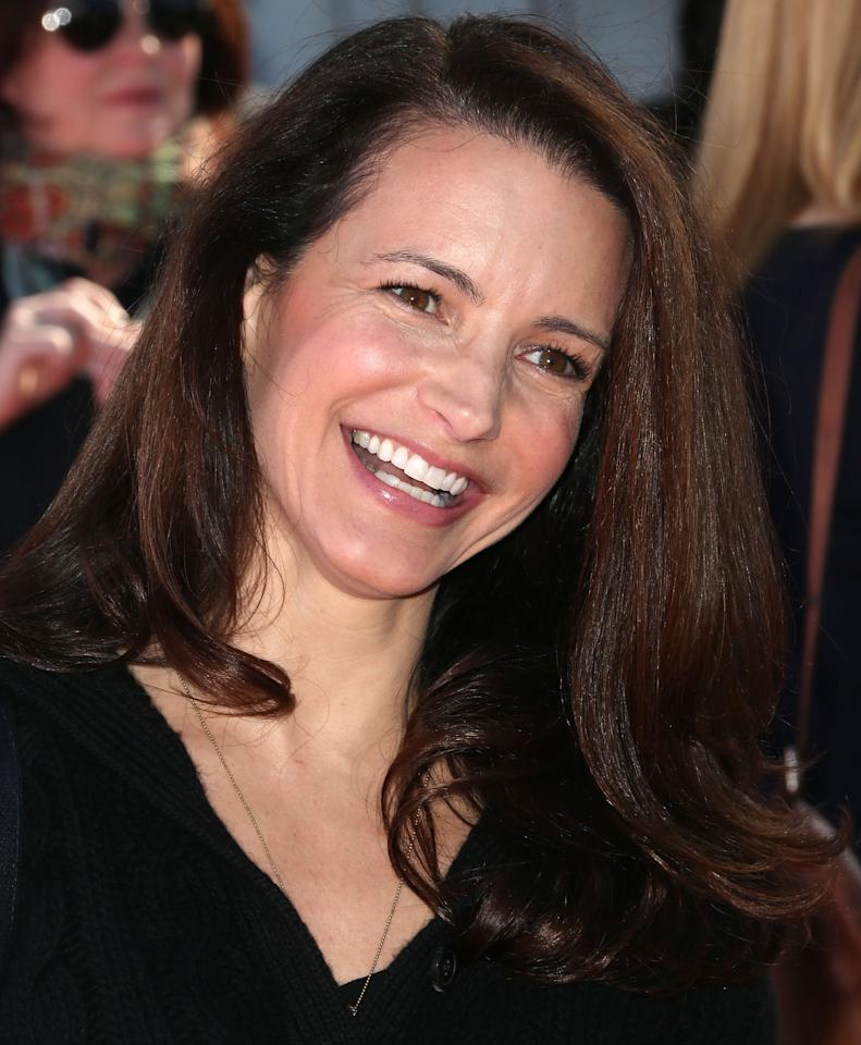 SANTA MONICA, CA - NOVEMBER 11:  Actress Kristin Davis attends the 14th Aniversary Of P.S. Arts Express Yourself at the Barker Hangar Santa Monica Airport on November 11, 2012 in Santa Monica, California.  (Photo by Frederick M. Brown/Getty Images)