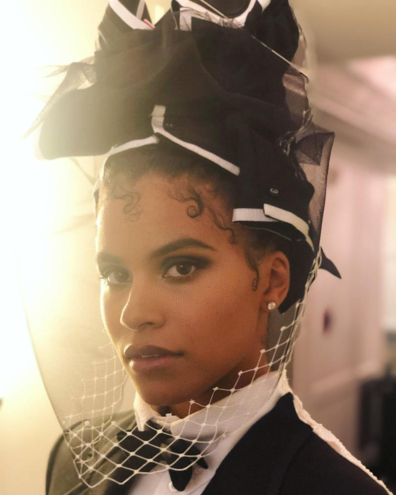 Photo of Zazie Beetz courtesy of: Lacy Redway. Hair by Lacy Redway.