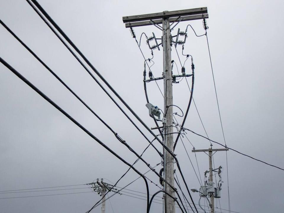 Part of the Atlantic Loop project would see the upgrade of transmission grids to allow for the flow of green energy from Labrador and Quebec. (Robert Short/CBC - image credit)